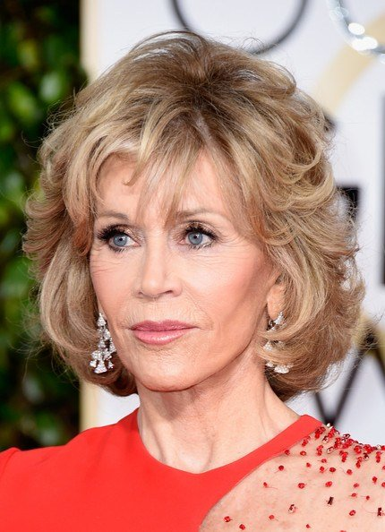 The Best Jane Fonda Hairstyles For Women Over 60 Elle Hairstyles Pictures