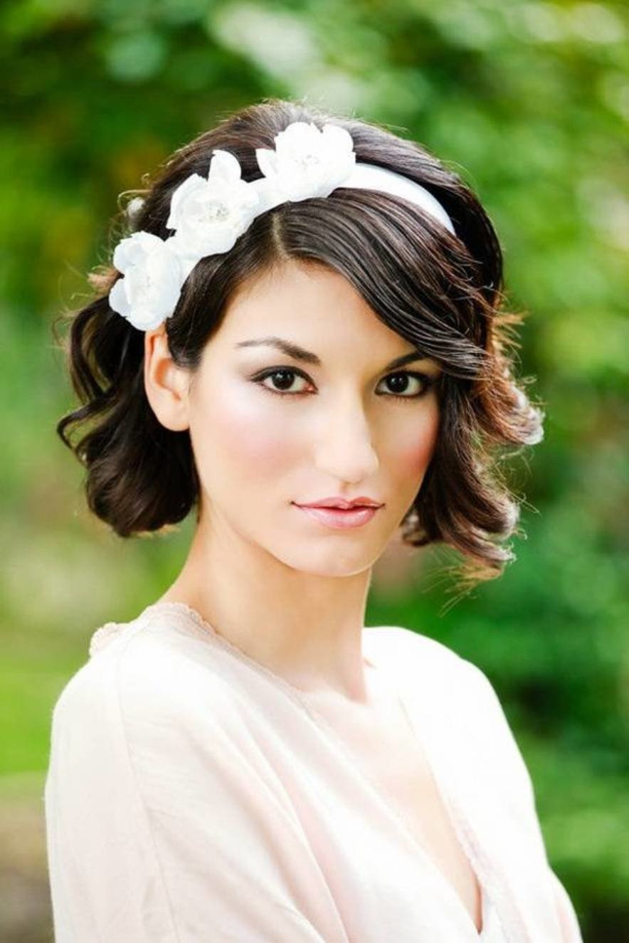 The Best Wedding Hairstyles For Short Hair Women S Fave Hairstyles Pictures