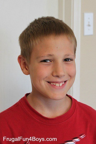 The Best How To Do A Boy S Haircut With Clippers Frugal Fun For Boys And Girls Pictures