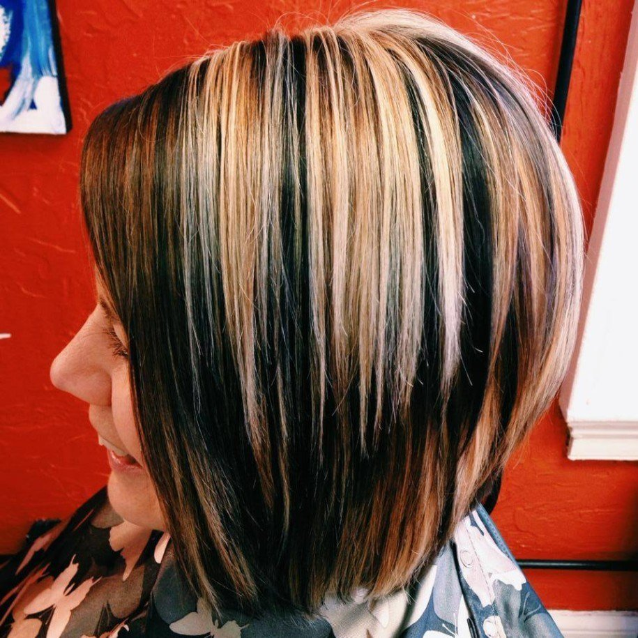 The Best Women S Hairstyles 3 Dimensional Hair Color For Short Pictures