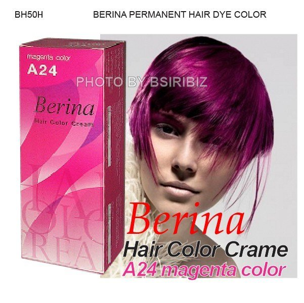 The Best Berina Permanent Hair Dye Various Color Colour Cream P*Nky Pictures