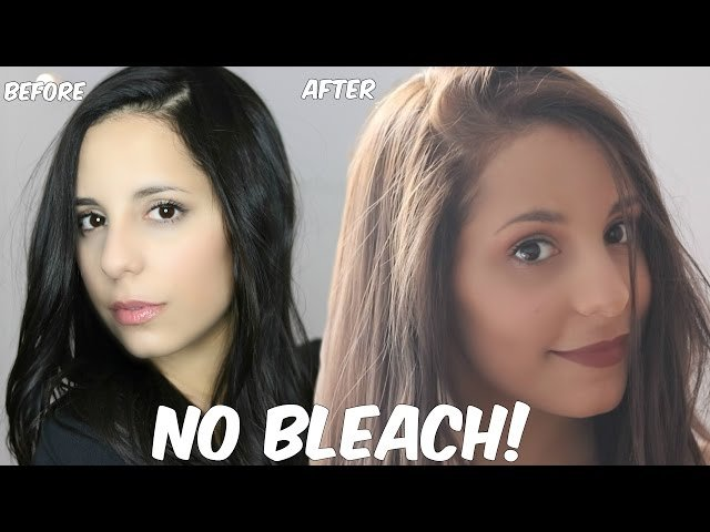 The Best Diy Lighten Dark Hair Without Bleach At Home Pictures