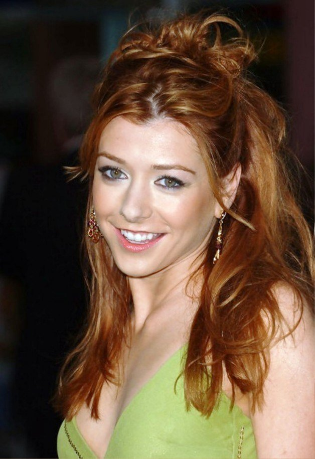 The Best Pick Your Favorite Of These Alyson Hannigan Hairstyles Pictures