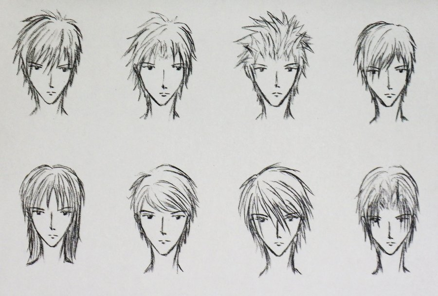 The Best Anime Hairstyles 5 Inkcloth Pictures