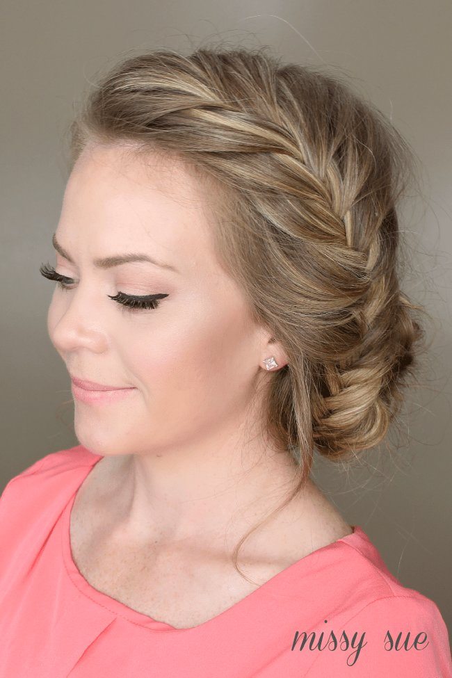 The Best Fishtail French Braid Braided Bun Pictures
