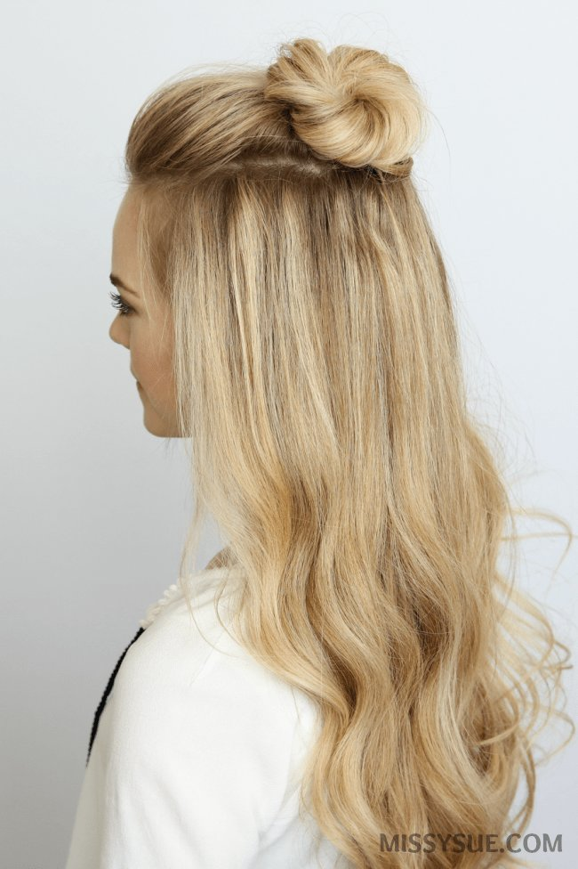 The Best 5 Summer Mini Bun Hairstyles Missy Sue Pictures