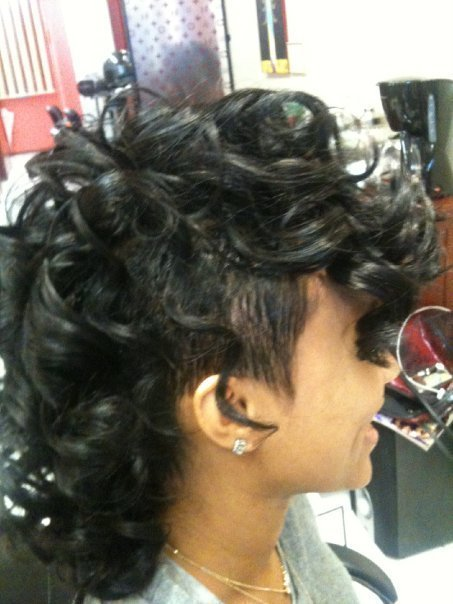 The Best 25 Exquisite Curly Mohawk Hairstyles For Girls Women Pictures