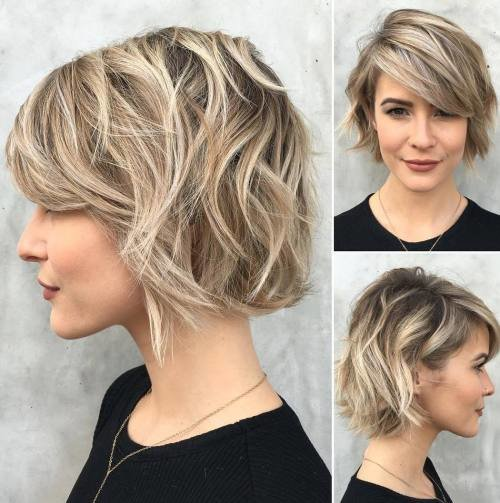 The Best 60 Fabulous Choppy Bob Hairstyles Pictures