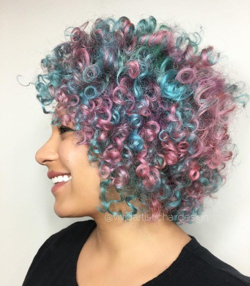 The Best 20 Cotton Candy Hairstyles That Are As Sweet As Can Be Pictures