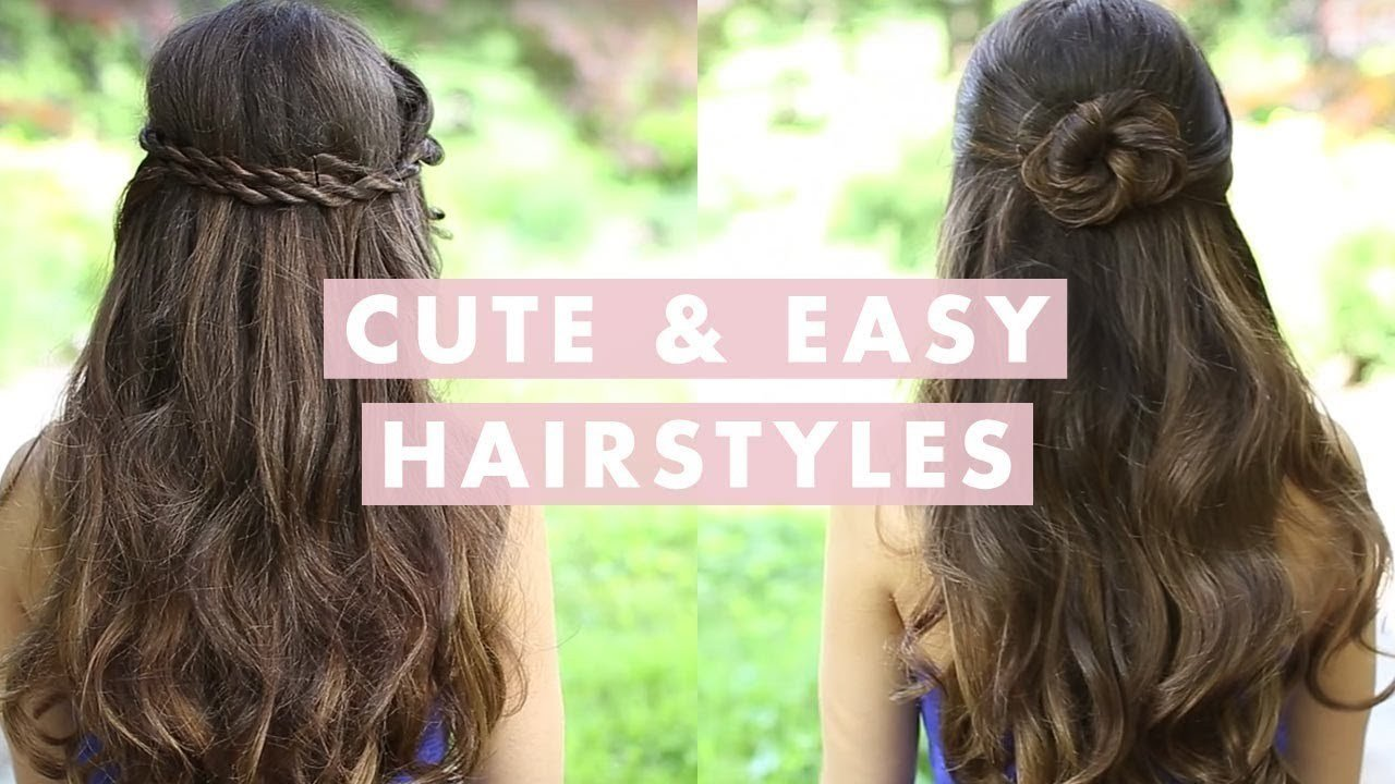 The Best Cute And Easy Hairstyles Youtube Pictures
