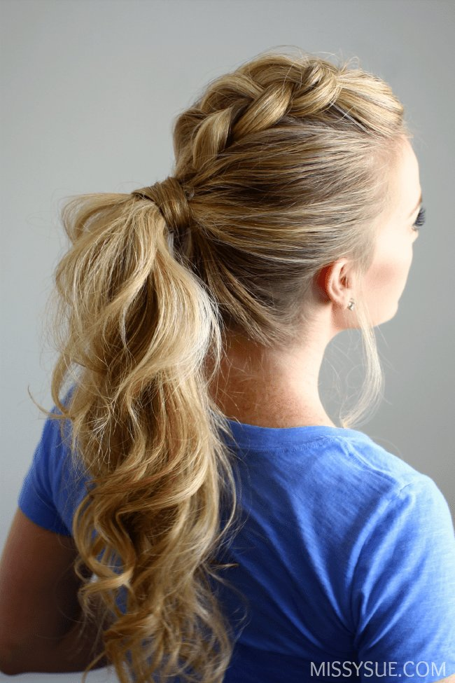 The Best Dutch Mohawk Ponytail Pictures