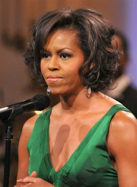 The Best Michelle Obama Hairstyles Celebrity Latest Hairstyles 2016 Pictures