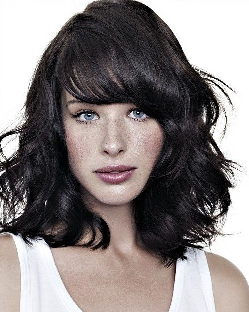 The Best 90 Sensational Medium Length Haircuts For Thick Hair In 2017 Pictures