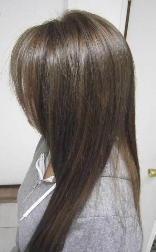 The Best 18 Hairstyles And Colors For Straight Long Hair Crazyforus Pictures