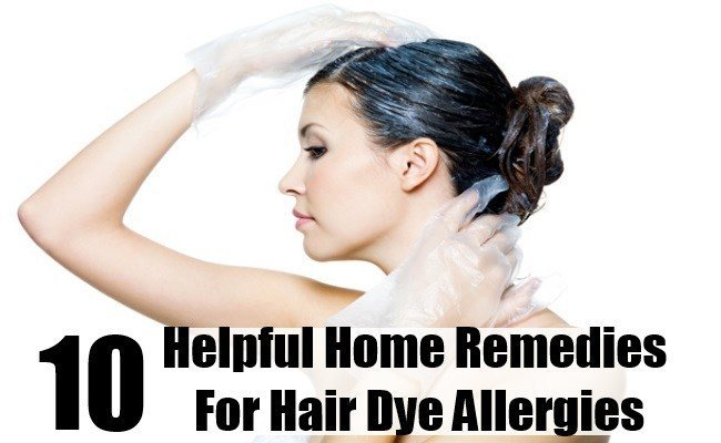 The Best 10 Helpful Home Remedies For Hair Dye Allergies Search Pictures