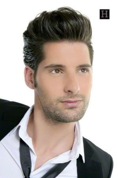 The Best Mens Hairstyles How To This Is A Pompadour Men S Hairst Pictures