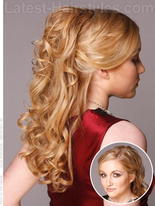 The Best Half Up Half Down Prom Hairstyles Pictures And How To S Pictures
