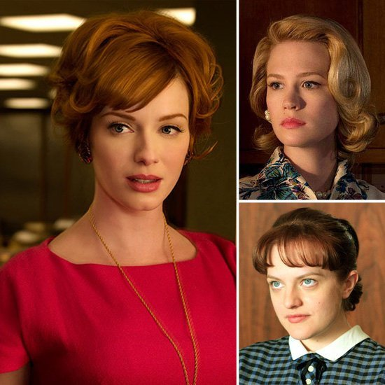 The Best Mad Men Hair And Makeup Popsugar Beauty Pictures