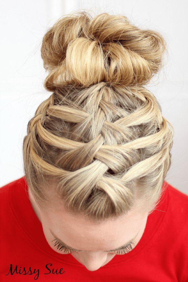 The Best Braid 14 Triple French Braid Double Waterfall Pictures