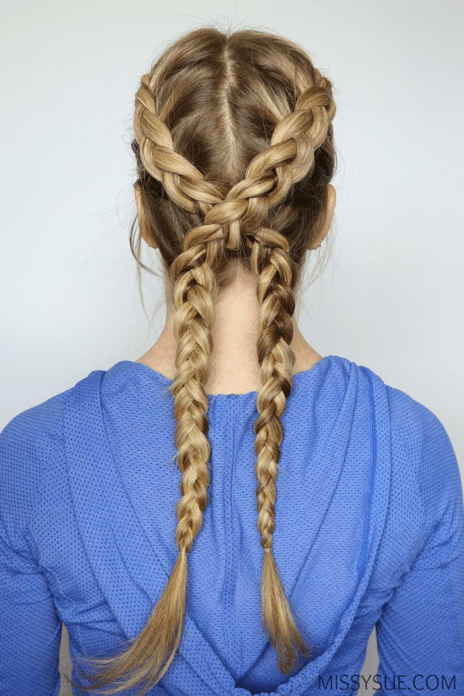 The Best 3 Sporty Hairstyles Missy Sue Pictures