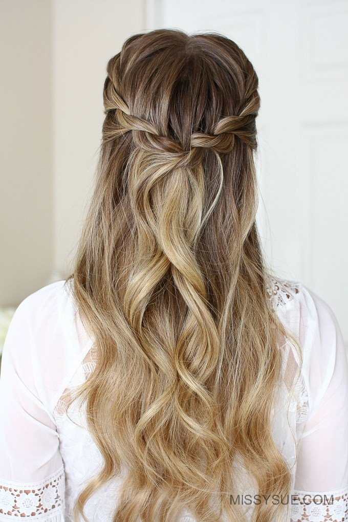 The Best 3 Easy Rope Braid Hairstyles Missy Sue Pictures