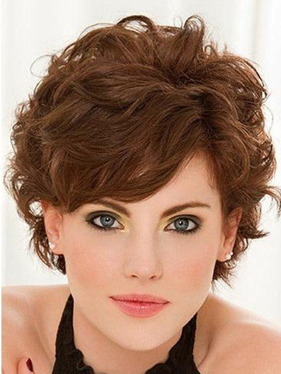 The Best Short Curly Hairstyles With Bangs Popular Haircuts Pictures