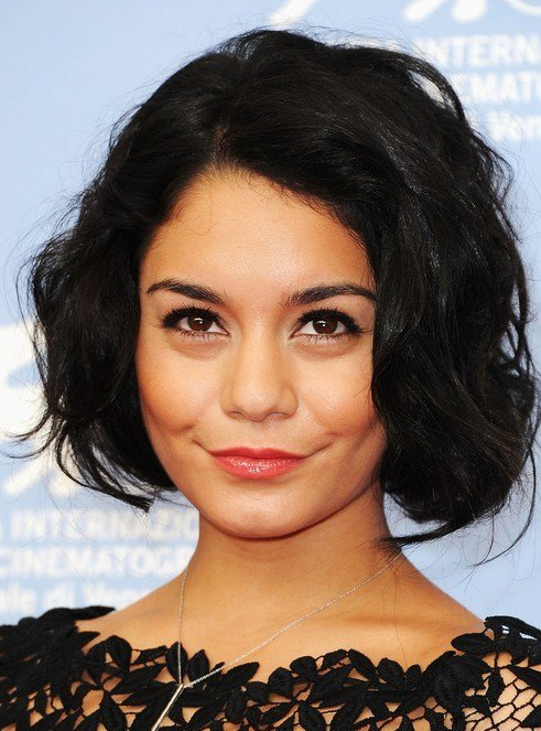 The Best 10 Vanessa Hudgens Hairstyles Popular Haircuts Pictures