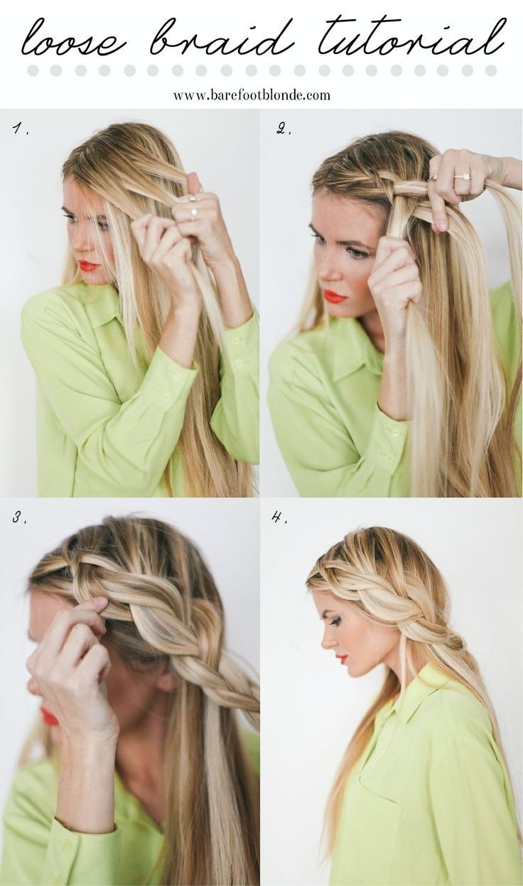 The Best 10 French Braids Hairstyles Tutorials Everyday Hair Pictures