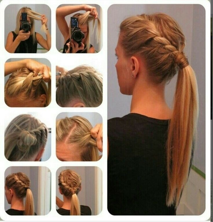 The Best 15 Cute And Easy Ponytail Hairstyles Tutorials Popular Pictures