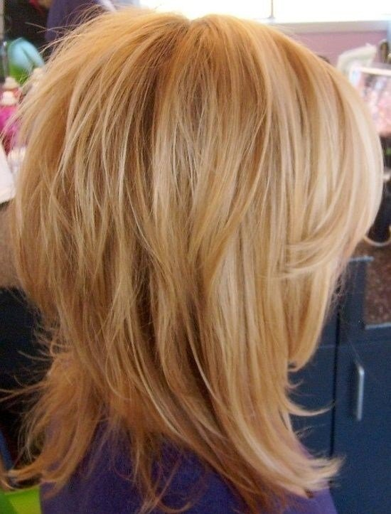 The Best 12 Pretty Layered Hairstyles For Medium Hair Popular Pictures