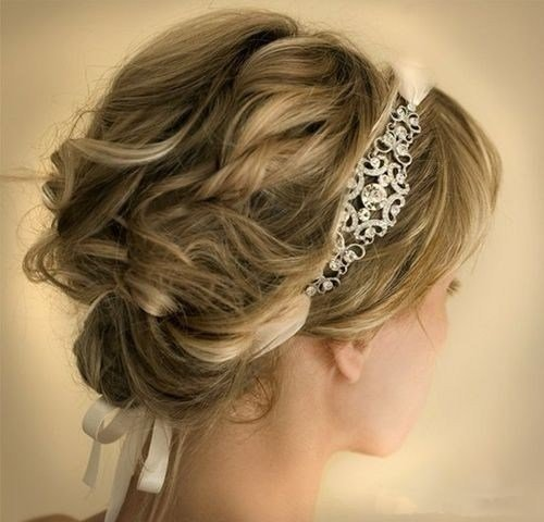 The Best 10 Pretty Wedding Updos For Short Hair Popular Haircuts Pictures