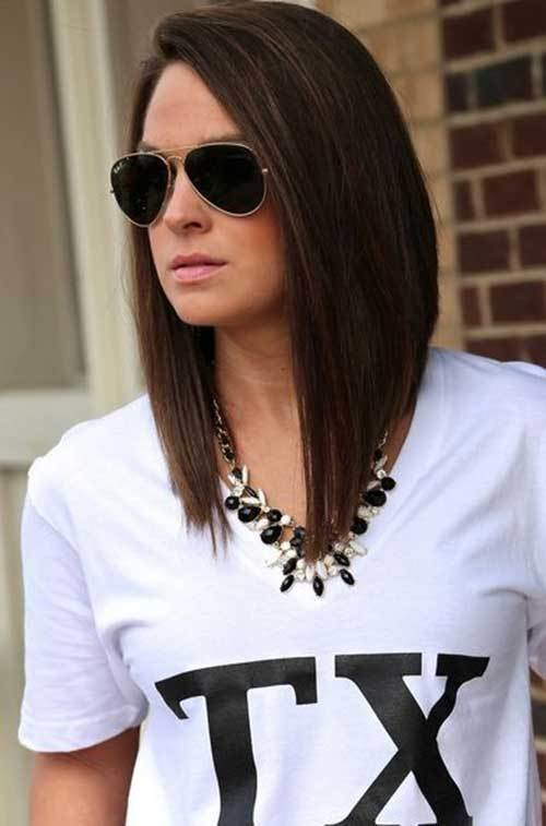 The Best 27 Beautiful Long Bob Hairstyles Shoulder Length Hair Pictures