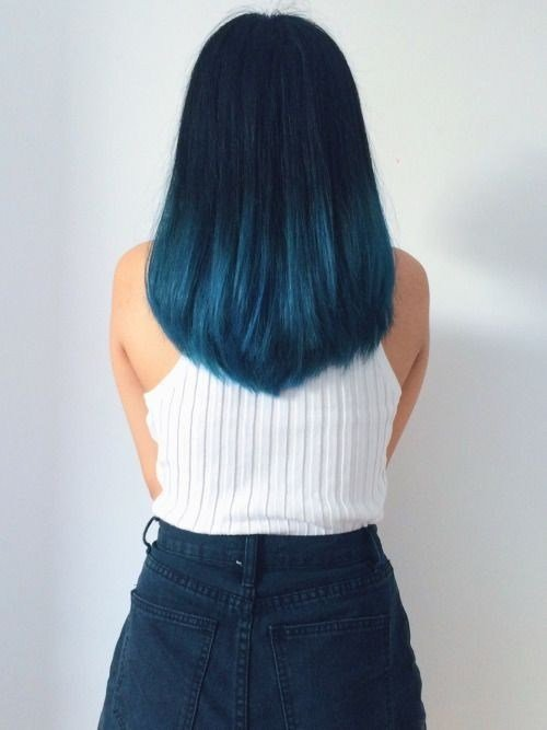 The Best 18 Beautiful Blue Ombre Colors And Styles Popular Haircuts Pictures