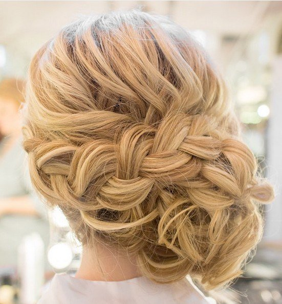 The Best 27 Trendy Updos For Medium Length Hair Updo Hairstyle Ideas For 2019 Pictures