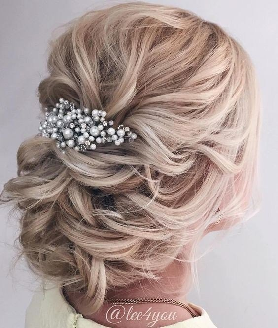 The Best 10 Beautiful Updo Hairstyles For Weddings 2019 Pictures
