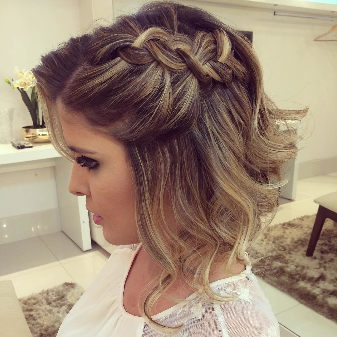 The Best 20 Gorgeous Prom Hairstyle Designs For Short Hair Prom Hairstyles 2019 Pictures