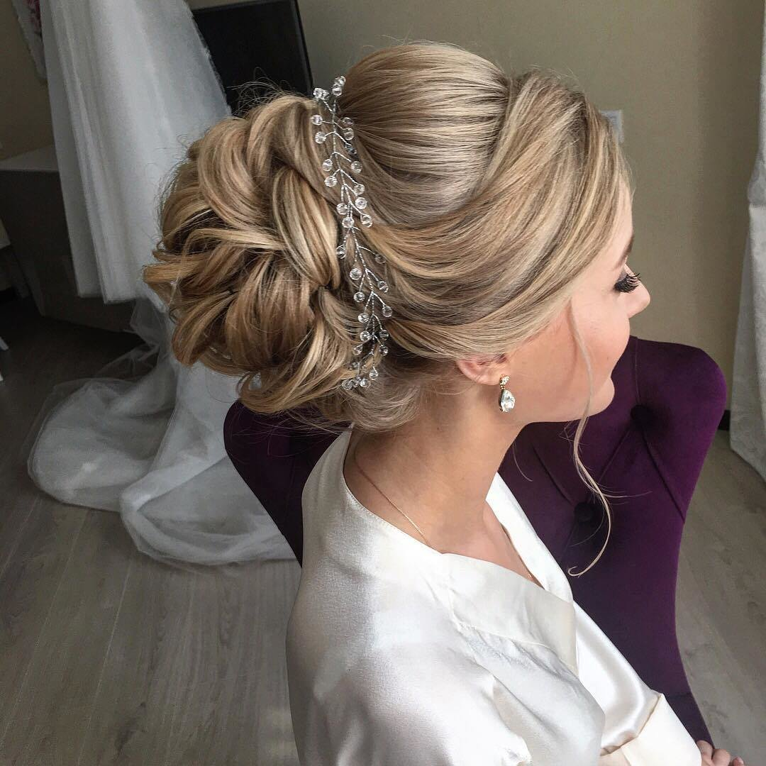 The Best 10 Lavish Wedding Hairstyles For Long Hair Wedding Pictures
