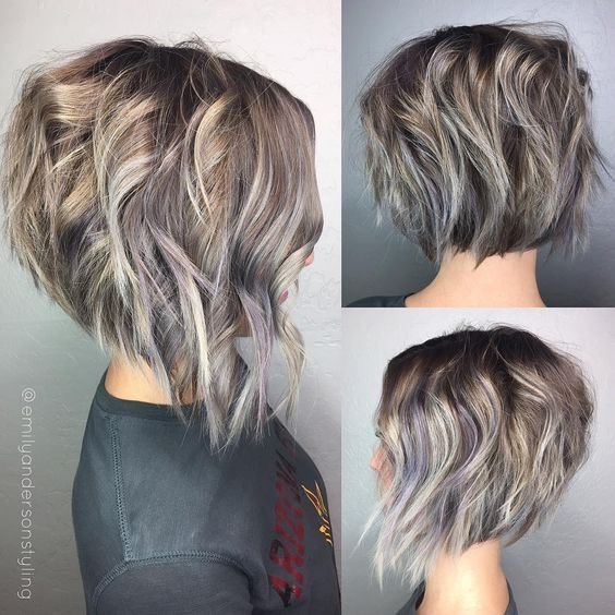 The Best 10 Latest Inverted Bob Haircuts 2019 Pictures