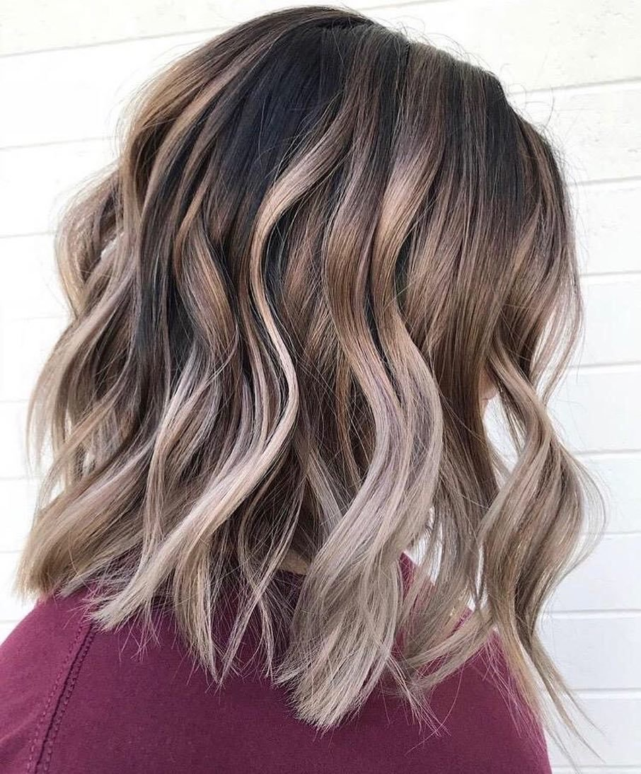 The Best 10 Creative Hair Color Ideas For Medium Length Hair Pictures