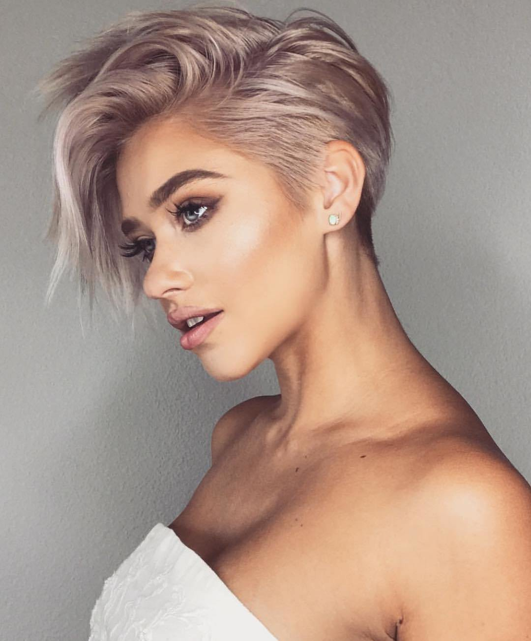 The Best 10 Trendy Very Short Haircuts For Female Cool Short Hair Pictures