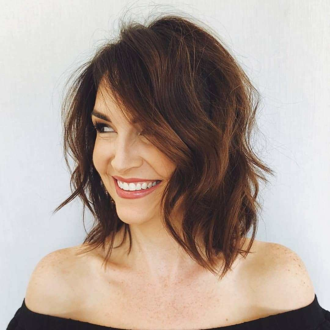 The Best Stylish Shoulder Length Haircuts Women Medium Hairstyles Pictures