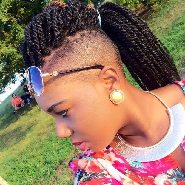 The Best Whimsical Twist Hairstyles For Black Women Hairstyles Pictures