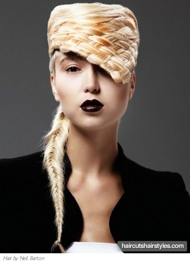 The Best High Fashion Braided Hairstyle Pictures