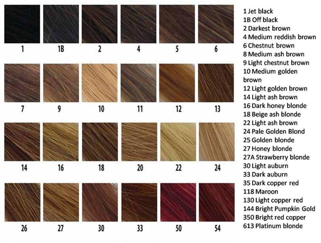 The Best Revlon Hair Color Chart Red Hairstyles Ideas Pictures