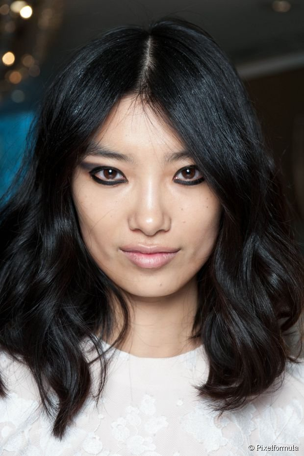 The Best Middle Parted Layered Hairstyles Photo Gallery Pictures