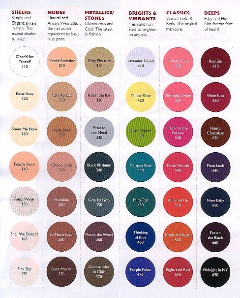 The Best Sally Hansen Color Chart Makeup Hair Tips Pinterest Pictures