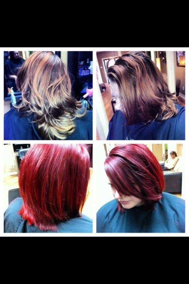 The Best 6Rr Hair Color Matrix Hair Color I Used A 6Rr With 20 Pictures