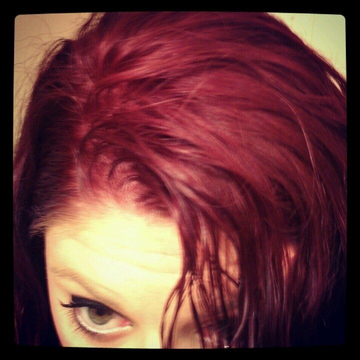 The Best My Hair Color Redken 5Rv On Naturally Light Brown D*Rty Pictures