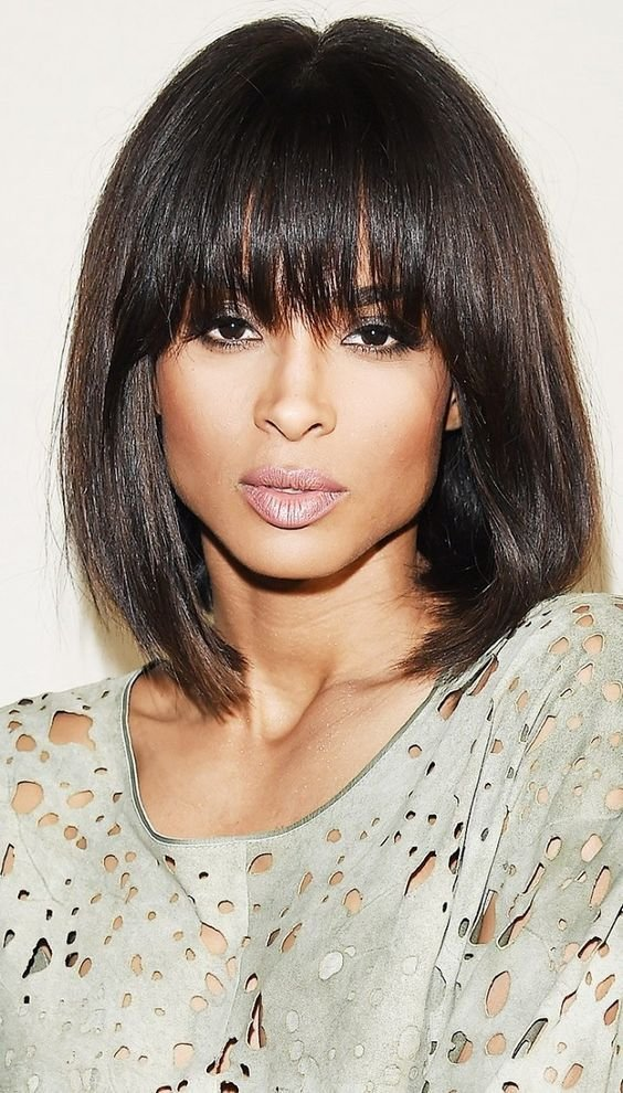 The Best Women S Haircuts With Bangs 2019 Nail Art Styling Pictures