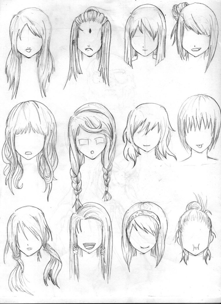 The Best Another Hair Reference By Tenzen888 On Deviantart Pictures